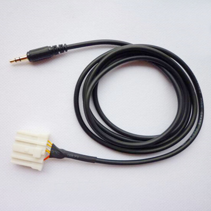 aux кабель провод для мазда 3 6