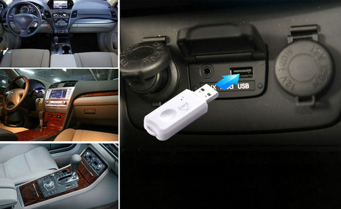 Bluetooth audio adapter в машину