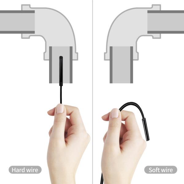 мягкий и жесткий эндоскоп