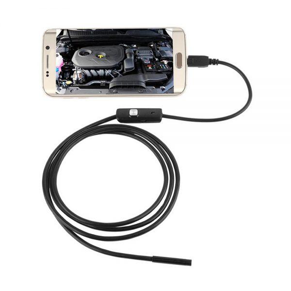 Эндоскоп бороскоп камера USB для авто
