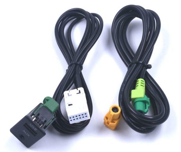 AUX USB кабель для Volkswagen с фишкой