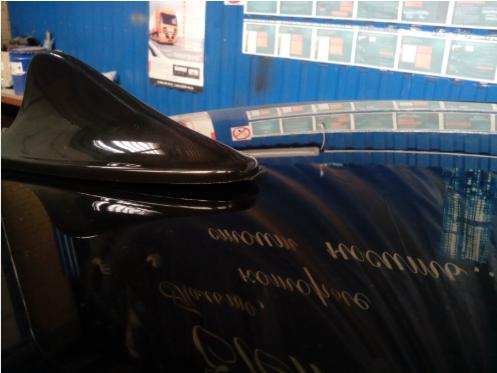 Универсальный плавник на крышу автомобиля пример фото 2