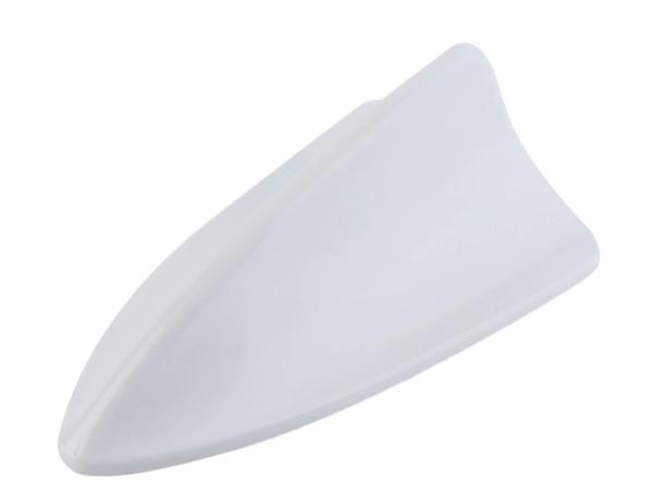 Универсальный плавник на крышу автомобиля цвет белый