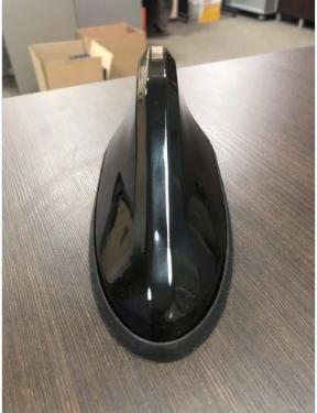 антена плавник с fm-усилителем сигнала для автомобиля. черная