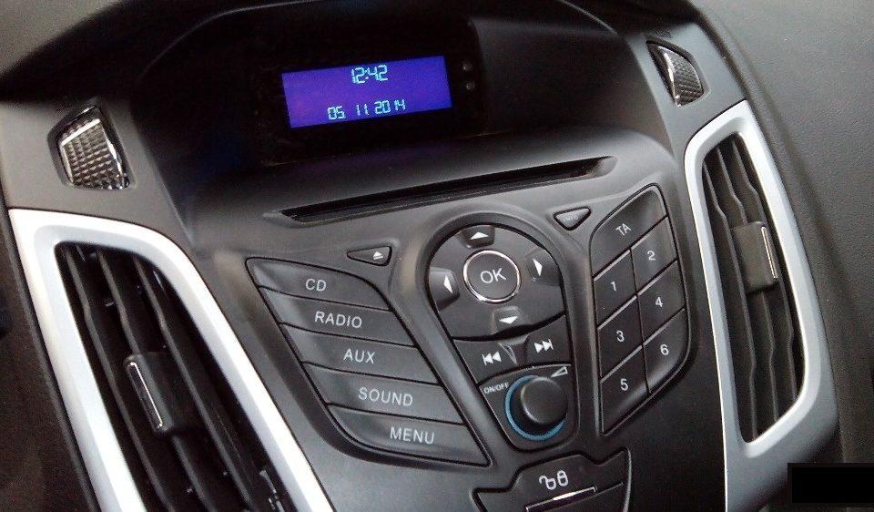 магнитола Ford Focus 3 фото