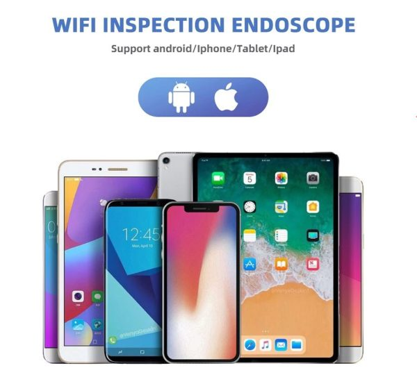 Wi-Fi эндоскоп бороскоп устройства 1